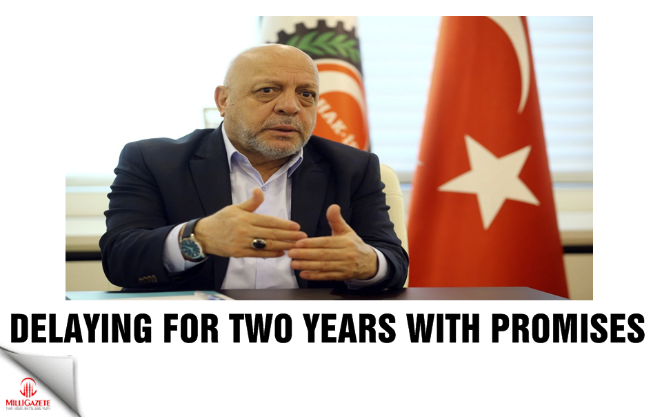 Delaying for two years with promises