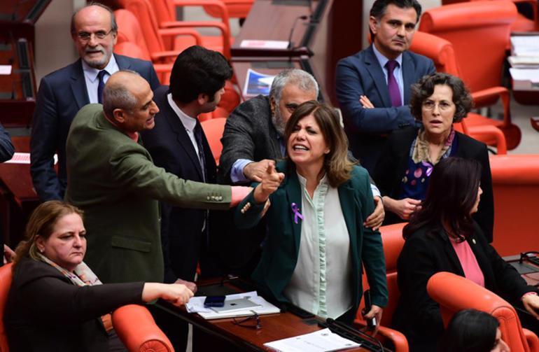 Deputies brawl in Turkish Parliament over Afrin operation