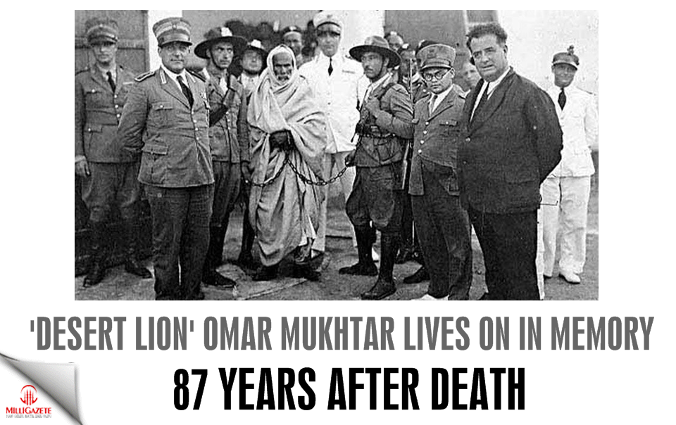 Desert Lion Omar Mukhtar lives on in memory 87 years after death