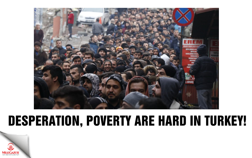 Desperation and poverty are hard in Turkey!