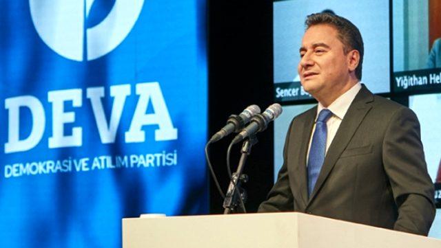 DEVA Party leader Babacan tests positive for virus