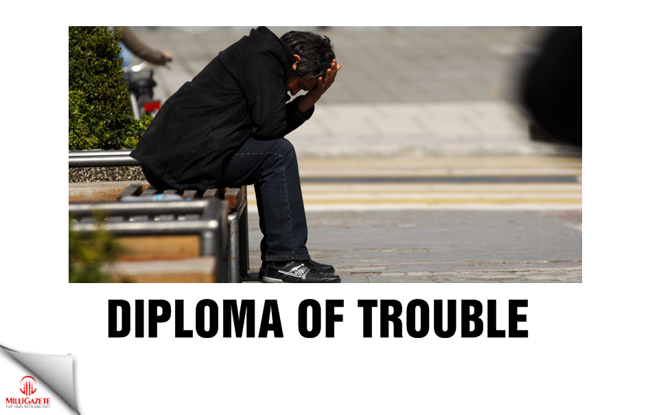Diploma of trouble