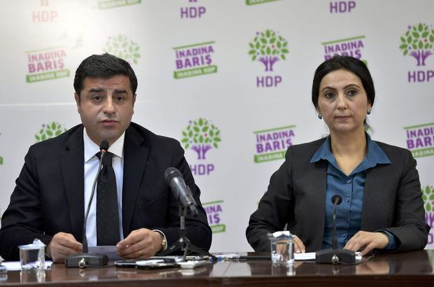 Diyarbakır court arrested co-chairs of HDP