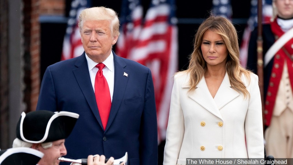 Donald Trump and Melania test positive for COVID-19