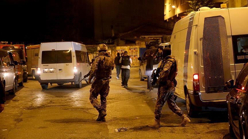 Dozens of Daesh suspects detained in Istanbul