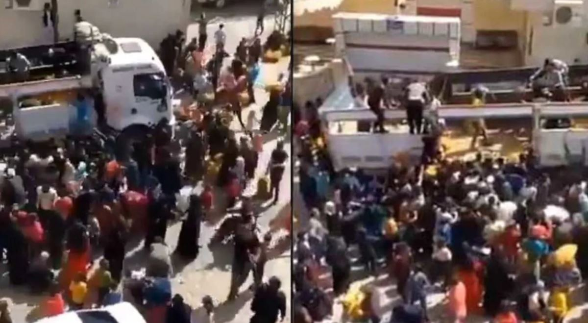 Dozens rush to get free potatoes, revealing the extent of poverty in Turkey