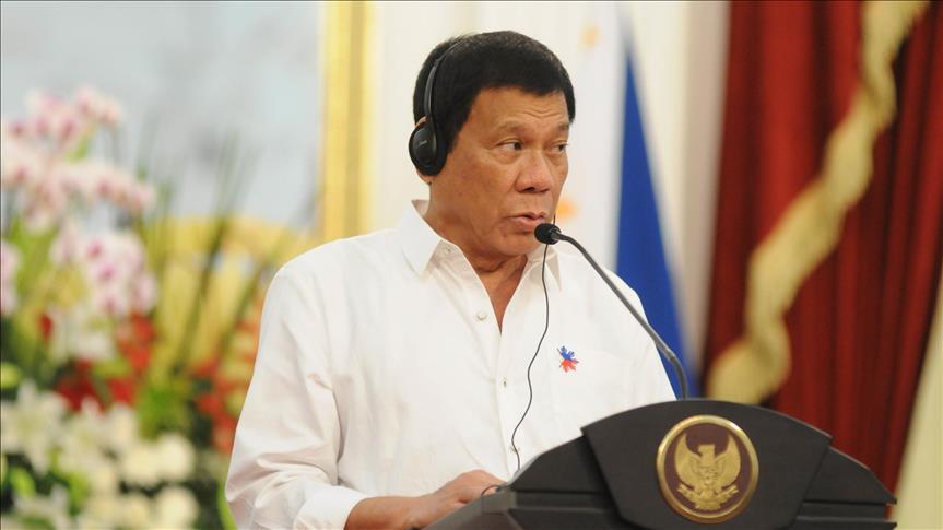 Duterte reiterates desire to finish Daesh-linked group