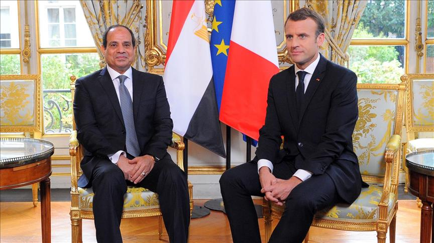 Egypt, France discuss conflicts in Syria, Libya