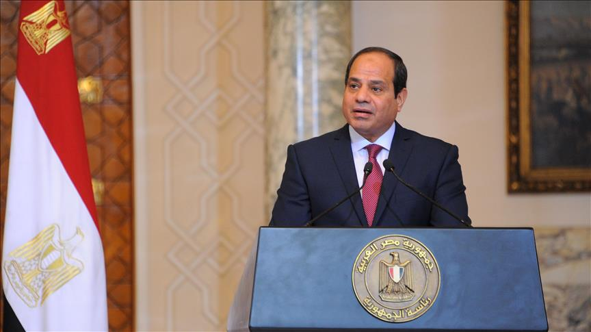 Egypt's al-Sisi meets with CENTCOM chief in Cairo