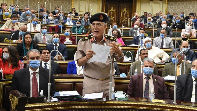 Egypt's parliament approves troop deployment to Libya
