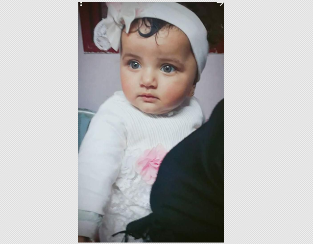 Eight-month-old Leila baby martyred in Gaza City