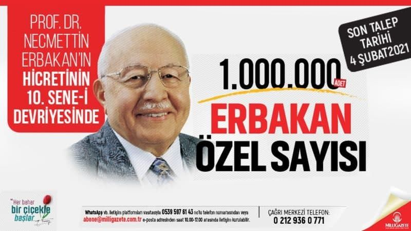 """""""Erbakan Special Issue"""" should enter every home"""