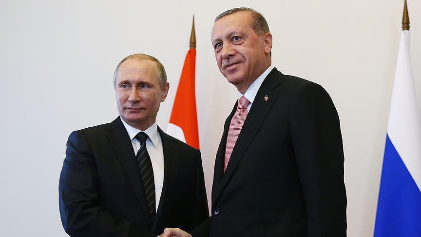 Erdogan and Putin talk on phone