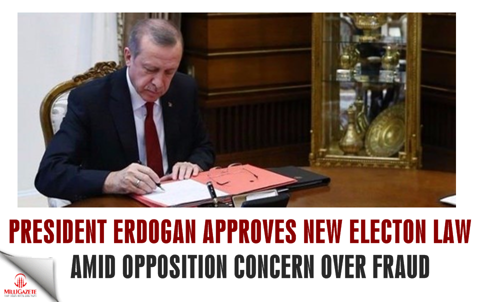 Erdoğan approves new election law amid opposition concern over fraud