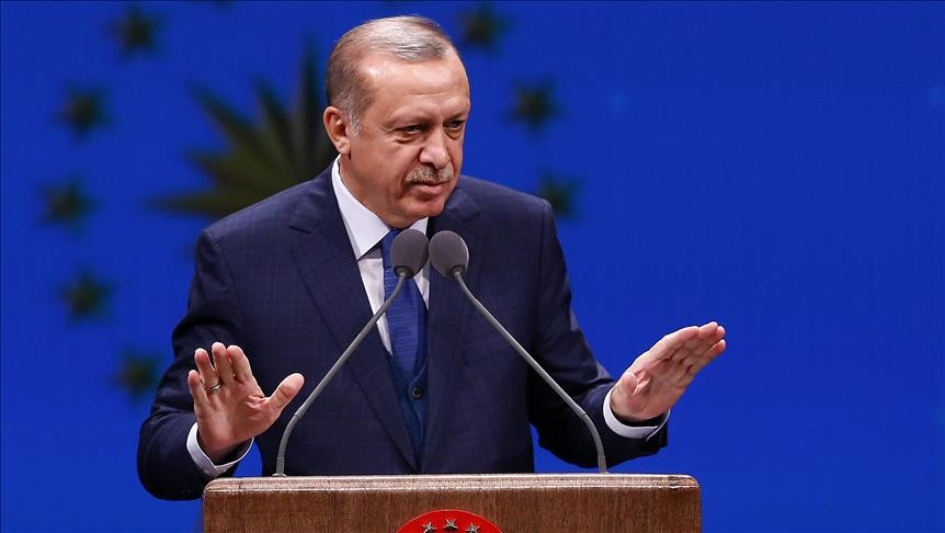 Erdogan: Be careful when naming Turkish sports centers