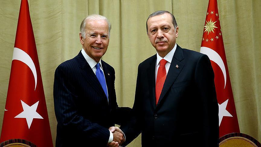 Erdogan, Biden meet in New York