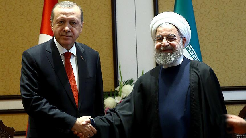 Erdogan congratulates Iran's Rouhani over election win