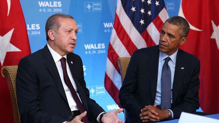 Erdogan, Obama talk in phone call