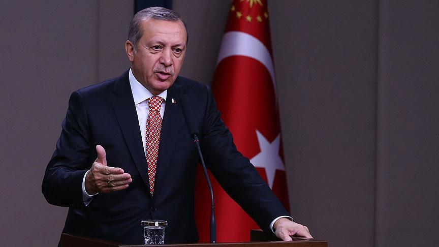 Erdogan: President should keep ties with own party