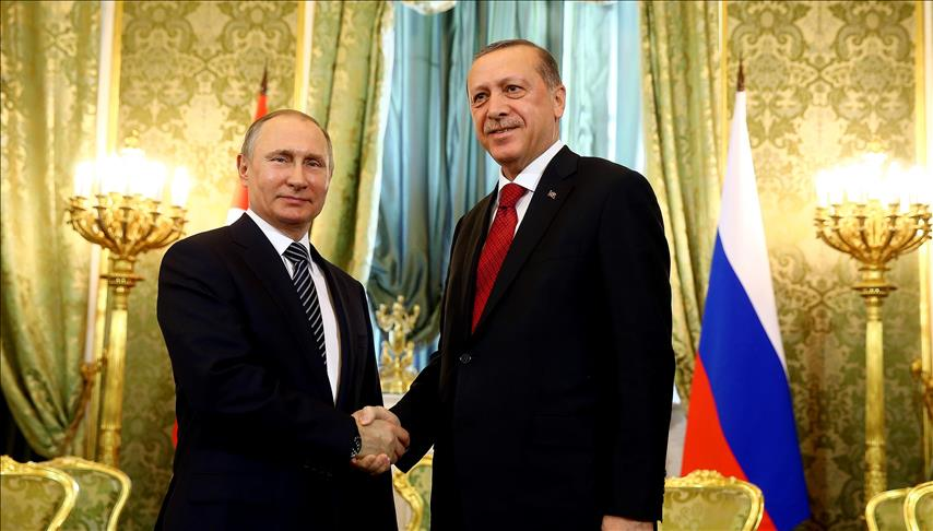 Erdogan, Putin meeting ended in Moscow