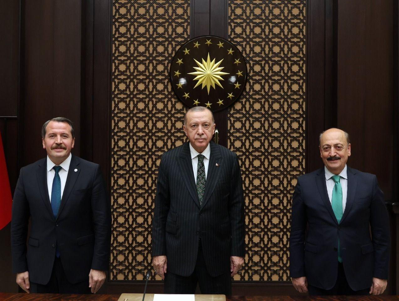 Erdogan receives