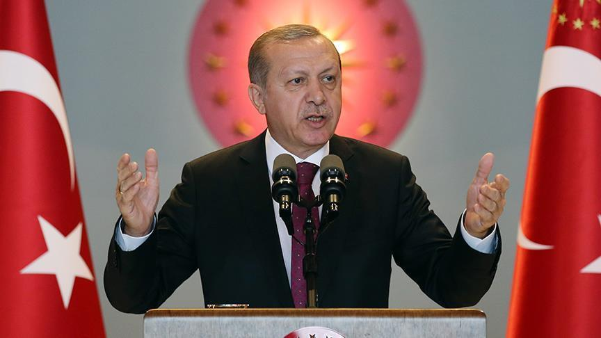 Erdogan slams 'bloodthirsty' terror groups