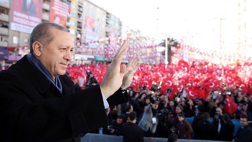 Erdogan: System change for the nation, not myself