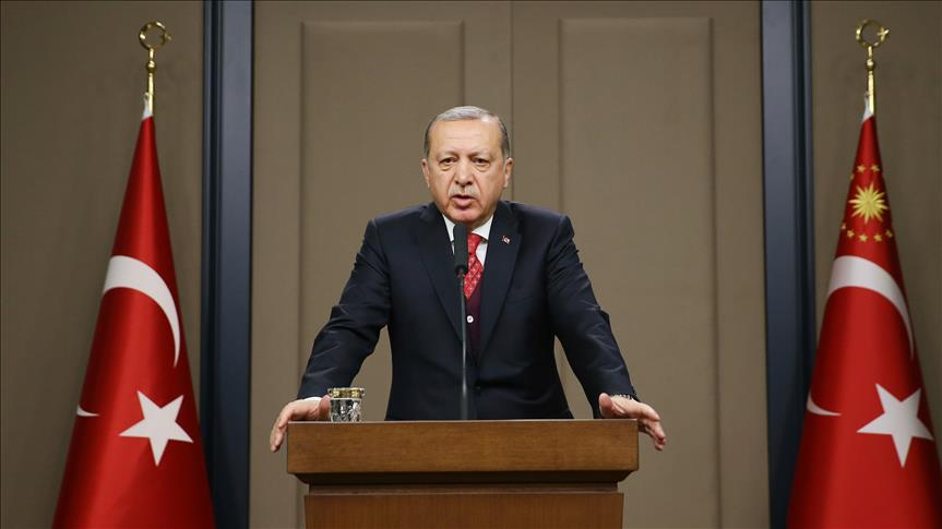 Erdogan: Turkey is determined to clear Africa of FETO