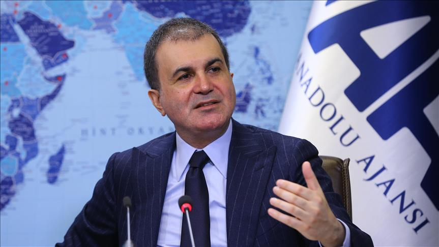 EU Minister Celik: Turkey favors EU free from double standards