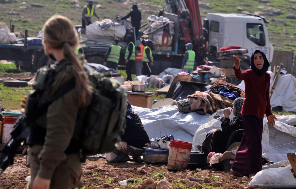 EU tells Zionist regime to halt demolition of Palestinian village