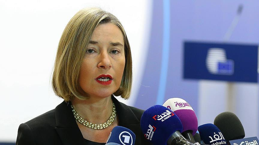 EU urges implementation of cease-fire in Syria at once