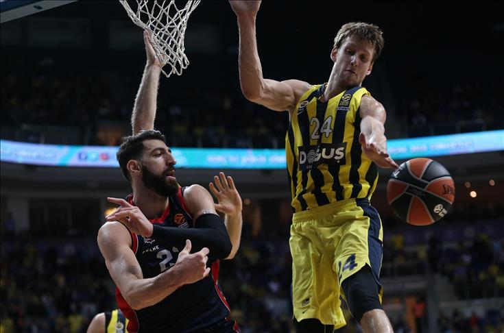 Euroleague: Fenerbahce beat Baskonia, Nunnally injured