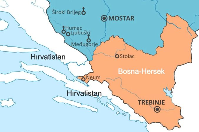 Europe wants to end Bosnia and Herzegovina's connection to the sea
