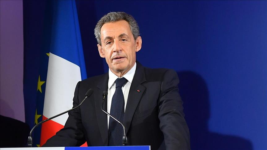 Ex-French President Sarkozy taken into police custody