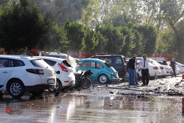 Explosion hits southern Turkey's Antalya