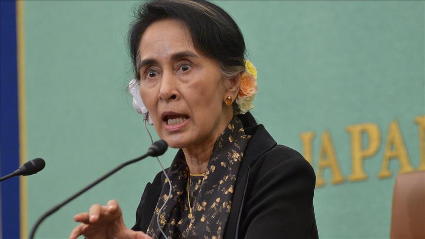 Facebook user jailed for defaming Suu Kyi