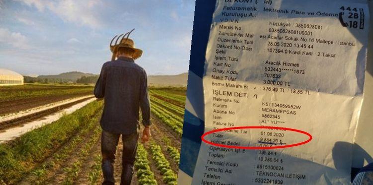 Farmer shocked with electric bills
