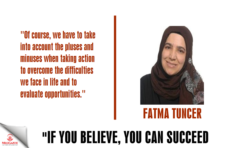 "Fatma Tuncer: ""If you believe, you can succeed"""