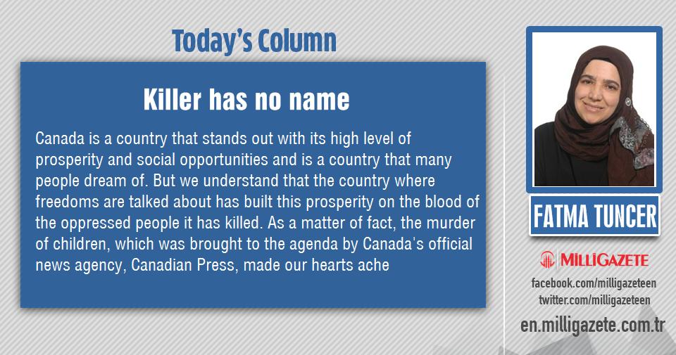 "Fatma Tuncer: ""Killer has no name"""