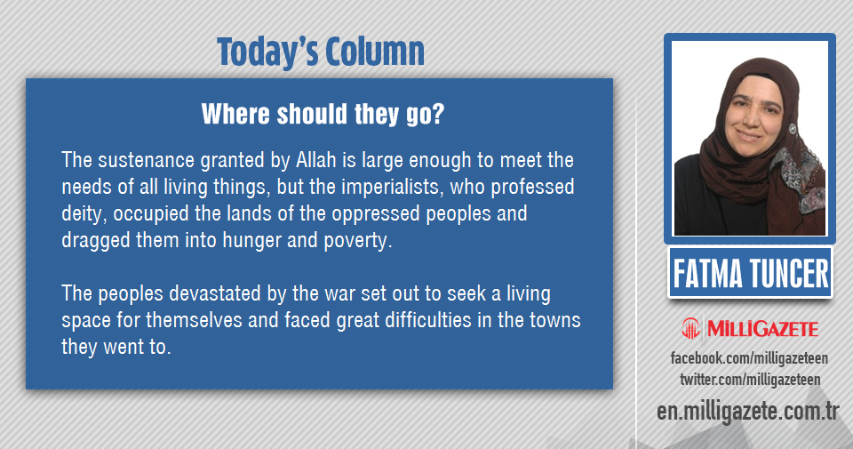 "Fatma Tuncer: ""Where should they go?"""
