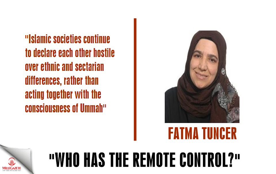 "Fatma Tuncer: ""Who has the remote control?"""
