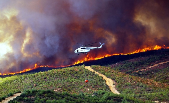 Faulty engines on aircraft prevent use in containing forest fires