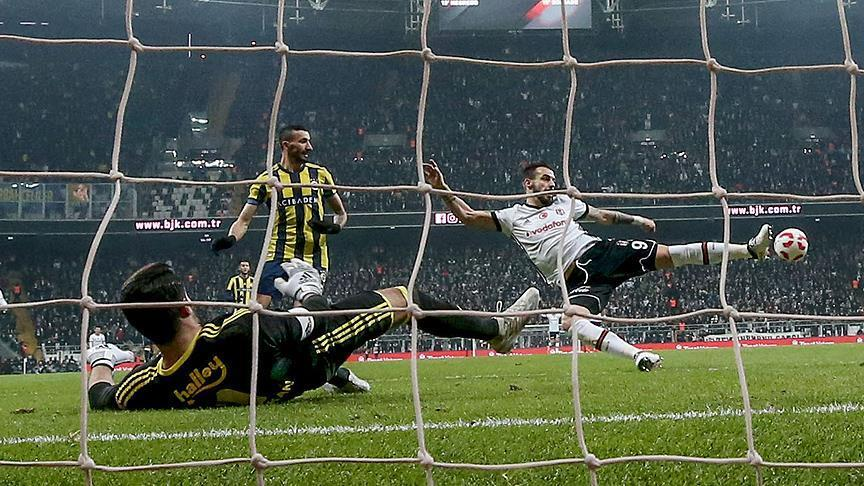 Fenerbahce Besiktas draw 2-2 in eventful cup derby