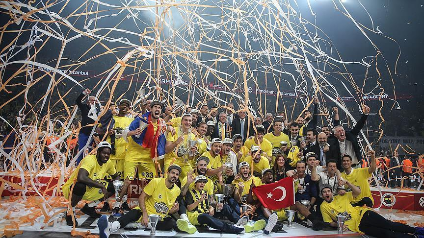 Fenerbahce crowned Turkish Airlines EuroLeague champs