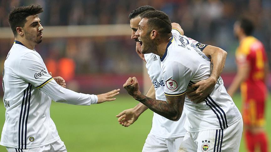 Fenerbahce defeat Kayserispor 3-0 in Turkish Cup
