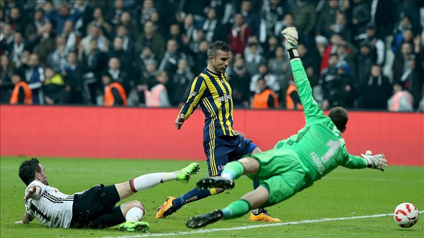 Fenerbahce defeats Besiktas in Turkish Cup