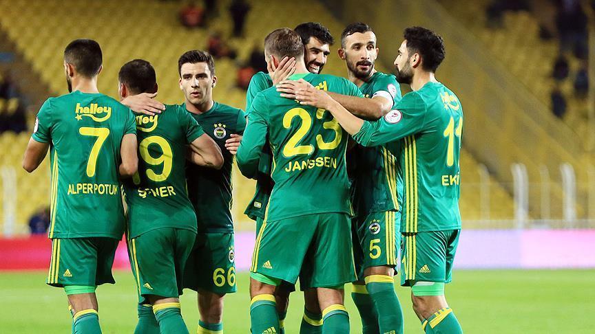 Fenerbahce ease past Adana Demirspor in Turkish Cup