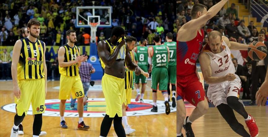 Fenerbahce, Galatasaray lose in Euroleague basketball
