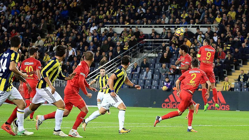 Fenerbahce, Kayserispor draw 3-3 in Turkish Super League
