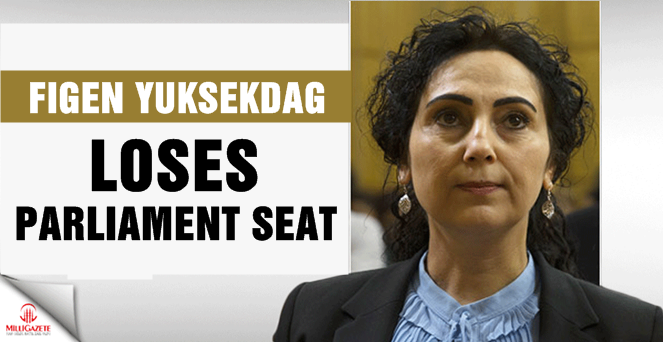 Figen Yuksekdag loses parliament seat